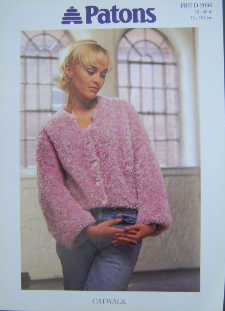 Patons Knitting Pattern 2036
